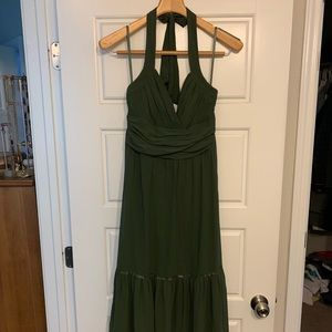 BCBG silk dress